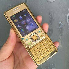 New Condition Nokia 6300 - Gold (Unlocked) Mobile Phone Cheap bar easy phones 2G