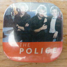 Vintage Music Heavy Punk Rock Pop Pin Badge  - The Police