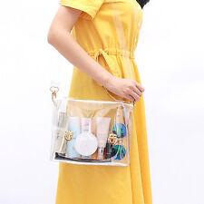 PVC Transparent Bag Clear Handbag Shoulder Bag Messenger New Cute
