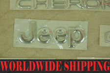 JEEP PARTS XJ CHEROKEE 3D LOGO EMBLEMS FREE SHIPPING TO U.S