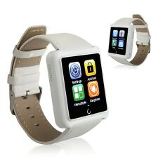 "White 1.54"" U10L Bluetooth Smart Wrist Watch Watch Phone Mate for Andriod & IOS"