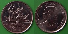 2009 Canada Women's Hockey 25 Cents Special NonColorful Issue From Mint Roll