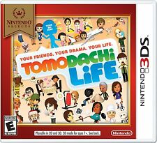 Nintendo Selects: Tomodachi Life - Nintendo 3DS | BRAND NEW USA, FACTORY SEALED