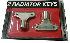 2pc RADIATOR BLEEDING KEYS Air Valve Heater Bleeder Release Rad Plumber Tool