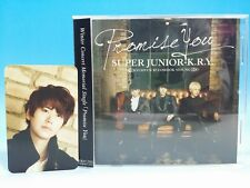 CD SUPER JUNIOR K.R.Y JAPAN Photo card Kyuhyun Promise You