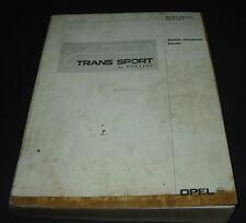 Werkstatthandbuch Pontiac Trans Sport Elektrik Fahrgestell Zubehör Stand 02/1993