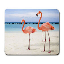 Flamingo on Beach Mouse Pad MP988