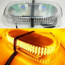 Power Amber Yellow 240-LED Strobe Lightbar Snow Plow Roof Lamp Truck Waterproof