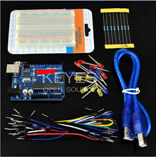 Basic Starter Kit UNO R3 400 Breadboard LED Jumper Wire Cable for Arduino