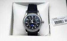 Frederique Constant Moontimer Automatic Steel Mens Watch Moon Date FC-330B6B6