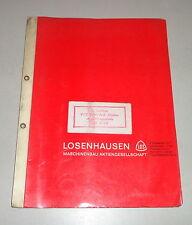 Betriebsanleitung / Teilekatalog Losenhausen Viebromax Rüttler AV 6000
