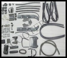 Vintage Lambretta GP DL SX Series Grey Rubber Kit Complete (Over100 Pcs.)