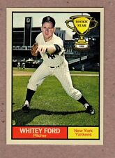 Whitey Ford 1950 New York Yankees Rookie Stars series #6 Monarch Corona