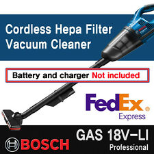 Bosch GAS 18V-LI Professional Cordless Vacuum Cleaner (Bare Tool Solo) - FedEx