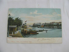 Postcard l'imprimé Netherlands Amstel boathouse Amsterdam France