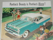 1955 PONTIAC CATALINA advertisement, Pontiac Star Chief Custom Catalina