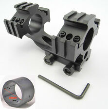 """New Tri-Rail Cantilever 20mm Rail Mount Dual 30mm&1""""25mm Ring For Scope/Rifl 13"""
