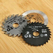 Circular 3Pcs Saw Blade HSS Mini Cutting Blades for Wood Metal Stone Working
