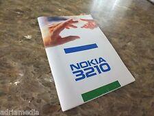 Original Nokia 3210 Bedienungsanleitung Anleitung Deutsch Anleitung Handy Phone