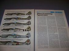 VINTAGE..FW 190D-9 VARIANTS...COLOR PROFILES..RARE! (567B)