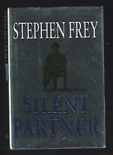 Silent Partner by Stephen Frey (2003, Hardcover), signed 1st