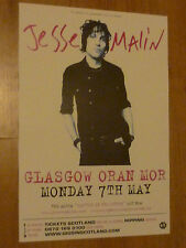 Jesse Malin Glasgow 2007 concert tour gig poster
