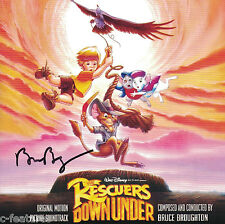RESCUERS DOWN UNDER Bruce Broughton INTRADA CD Signed AUTOGRAPHED Score DISNEY