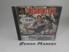 RESIDENT EVIL HORROR SONY PS1 PS2 PS3 PSX PLAYSTATION 1 2 3 ONE PAL ITA ITALIANO