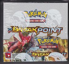 Pokemon XY Breakpoint sealed unopened booster box 36 packs of 10 cards