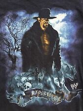 WWE The Undertaker T-Shirt Youth Large WWF Hybrid Long Sleeve