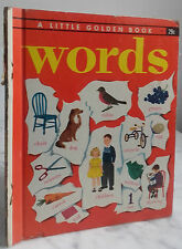 1948 A LITTLE GOLDEN BOOK WORDS BY S.L.CHAMBERS GOLDEN PRESS N.YORK IN 8 EC