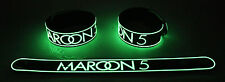 MAROON 5 NEW! Glow in the Dark Rubber Bracelet Wristband One More Night gg13
