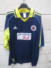 VINTAGE Maillot FENERBAHCE 2000 ADIDAS away football shirt trikot XL