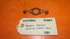Kawasaki FX400R (FX400 R, ZX400D) 1989 Sprocket Locking Washer and Bolts