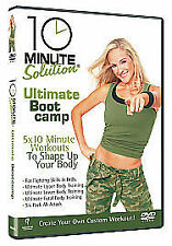 10 Minute Solution - Ultimate Boot Camp [DVD], Good DVD, , Andrea Ambandos