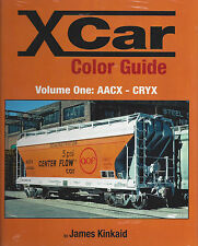 X CAR Color Guide, Vol. 1: AACX - CRYX --- (NEW BOOK)