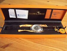 Stuhrling 107D 33152 Classic Helios Automatic Skeleton Silver-tone Men's Watch