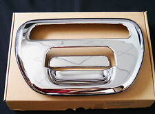 MITSUBISHI L200 05+ CHROME REAR TAILGATE DOOR HANDLE COVER TRIM TAIL GATE COVERS