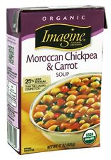 Imagine Foods - Organic Moroccan Chickpea & Carrot Soup - 17 oz.