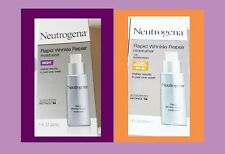 Neutrogena RAPID WRINKLE REPAIR  Moisturizer, NIGHT & DAY, HYALURONIC ACID