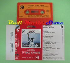 MC GIANNA NANNINI California 1980 italy RICORDI ORK 78689 no cd lp dvd vhs