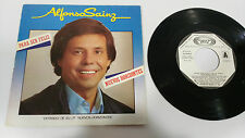 "ALFONSO SAINZ PARA SER FELIZ 1983 SINGLE 7"" VINILO VINYL SPANISH EDIT RARE!!!"