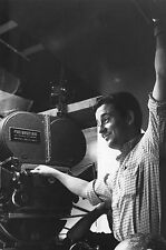 Photo originale Louis Malle tournage caméra