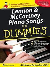 Lennon & McCartney Piano Songs for Dummies, McCartney, Paul, Lennon, John, Beatl