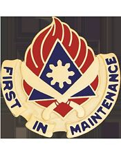 0189 Support Bn Unit Crest (First In Maintenance)