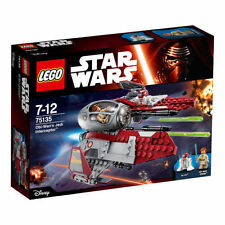 LEGO STAR WARS OBI-WAN's Jedi Interceptor STARFIGHTER  75135 Space Ship NEW I