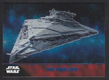 Topps Star Wars - The Force Awakens - Blue Parallel Card # 55 The Finalizer