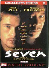 Dvd Seven - Collector's edition 2 dischi di David Fincher 1995 Usato