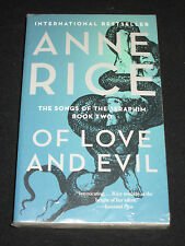 wmf  SALE : ANNE RICE ~ OF LOVE AND EVIL