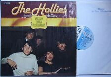 The Hollies Early Hollies Rare German LP Unique PS Promosticker + Stamp